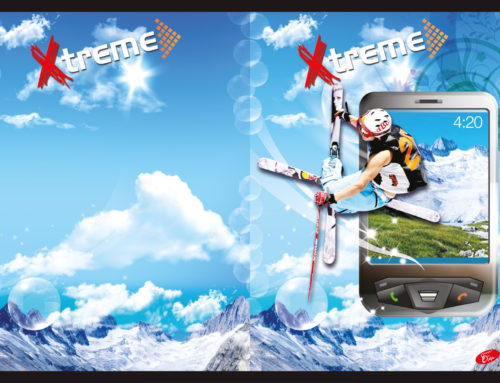 Xtreme sport – Skiing