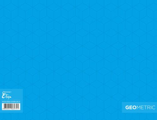 Geometric – Blue