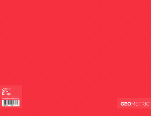 Geometric – Red