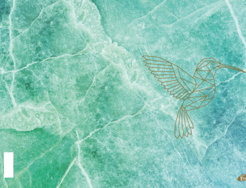 Marble green – hummingbird 2
